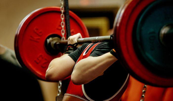squat barbell