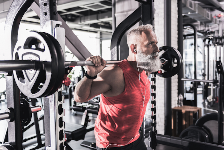 older guy barbell masters